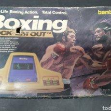 Videojuegos y Consolas: CONSOLA MÁQUINA JUEGOS BOXING BAMBINO BOXEO KNOCK EM OUT ELECTRONIC GAME MADE IN JAPAN 1979. Lote 184143256