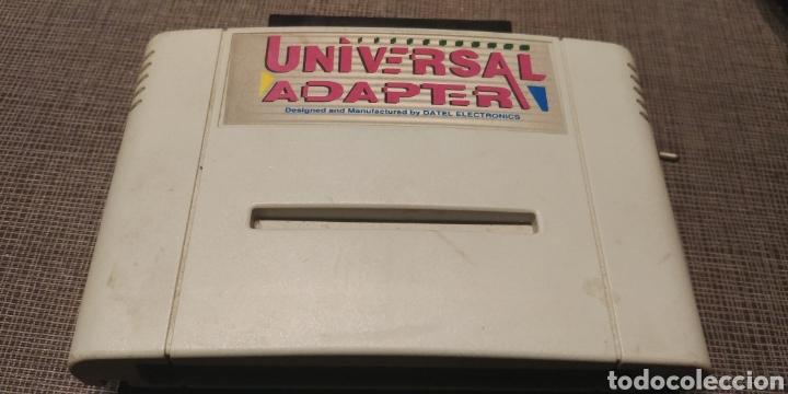UNIVERSAL ADAPTER ADAPTADOR JUEGOS CONSOLA NINTENDO (Juguetes - Videojuegos y Consolas - Otros descatalogados)
