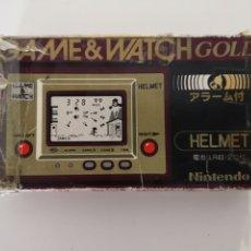 Videojuegos y Consolas: GAME AND WATCH HELMET JAPONESA. Lote 184347622