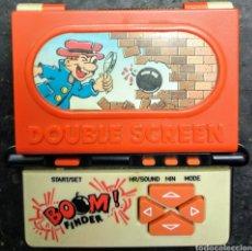 Videojuegos y Consolas: BOOM FINDER LCD NO GAME & WATCH ANTIGUA MAQUINA LCD DE DOBLE PANTALLA INCLUYE PILAS MÁS GAME & WATCH. Lote 185317751