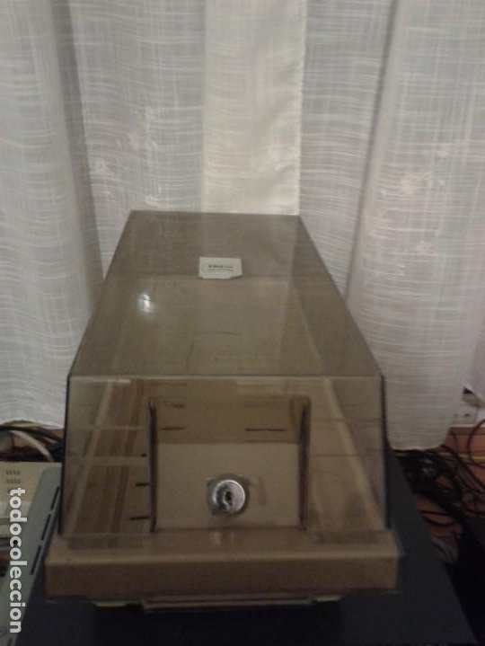 Videojuegos y Consolas: ANTIGUO FICHERO CON SEPARADORES DE DISCOS FLEXIBLES DE 5,25 PULGADAS - Foto 4 - 185992868