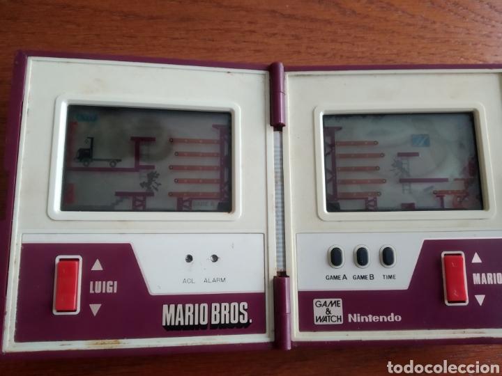 Videojuegos y Consolas: Maquina antigua Game Watch Mario Bros Nintendo año 1983 - Foto 3 - 186086308
