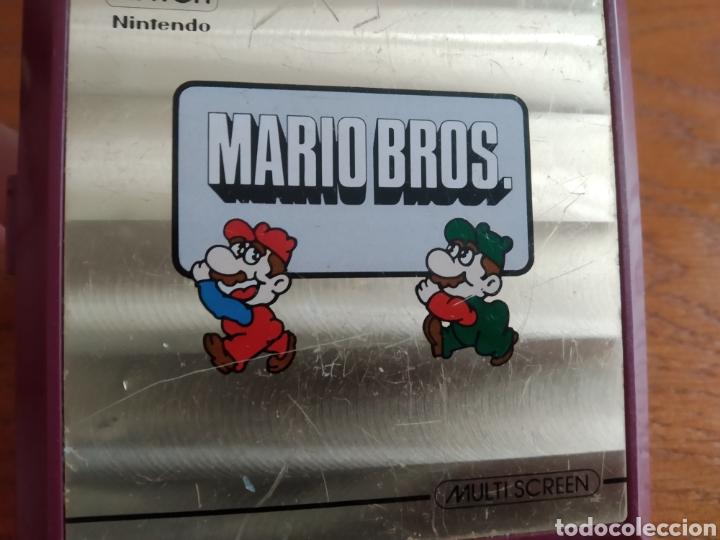 Videojuegos y Consolas: Maquina antigua Game Watch Mario Bros Nintendo año 1983 - Foto 6 - 186086308