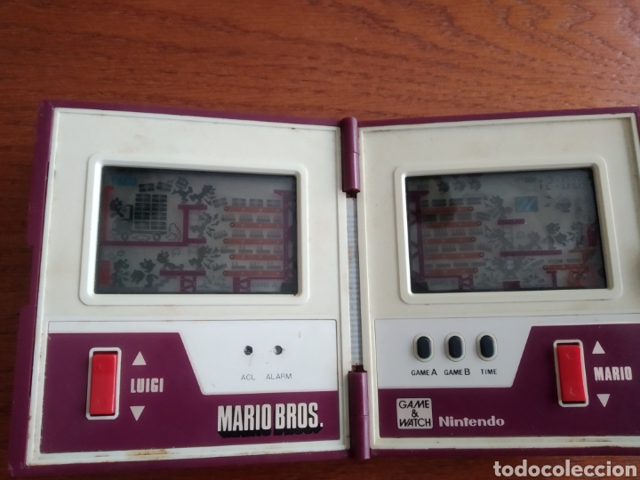 Videojuegos y Consolas: Maquina antigua Game Watch Mario Bros Nintendo año 1983 - Foto 15 - 186086308