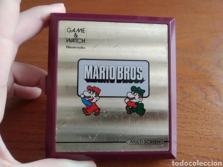 MAQUINA ANTIGUA GAME WATCH MARIO BROS NINTENDO AÑO 1983 (Juguetes - Videojuegos y Consolas - Otros descatalogados)