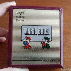 Videojuegos y Consolas: MAQUINA ANTIGUA GAME WATCH MARIO BROS NINTENDO AÑO 1983. Lote 186086308