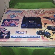 Videojuegos y Consolas: CONSOLA CLONICA TERMINATOR 7 FUNCIONANDO. Lote 186294442