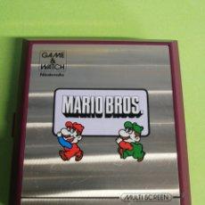 Videojuegos y Consolas: MAQUINA DE DOS PANTALLAS DE MARIO BROS AÑO 1983. Lote 187087905