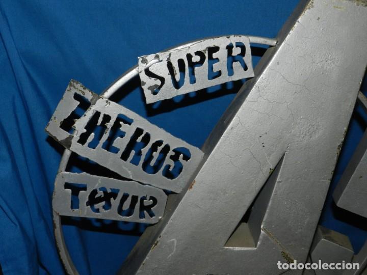 Videojuegos y Consolas: (M) DISPLAY METALICO SUPER ZHERO TOUR AL LHEMIST A5 - VIDEOJUEGOS, 83X55X21 CM - Foto 6 - 187157863