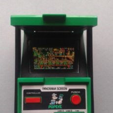 Videojuegos y Consolas: NINTENDO GAME&WATCH PANORAMA POPEYE PG-92 NEAR MINT CONDITION FULL WORKING!! R9841. Lote 187612902