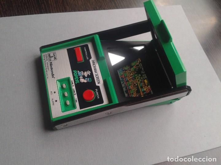 Videojuegos y Consolas: NINTENDO GAME&WATCH PANORAMA POPEYE PG-92 NEAR MINT CONDITION FULL WORKING!! R9841 - Foto 6 - 187612902
