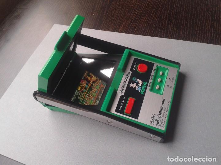 Videojuegos y Consolas: NINTENDO GAME&WATCH PANORAMA POPEYE PG-92 NEAR MINT CONDITION FULL WORKING!! R9841 - Foto 7 - 187612902
