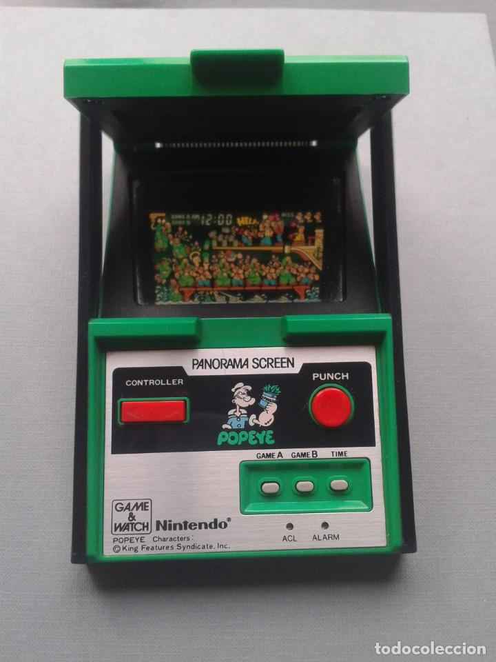 Videojuegos y Consolas: NINTENDO GAME&WATCH PANORAMA POPEYE PG-92 NEAR MINT CONDITION FULL WORKING!! R9841 - Foto 10 - 187612902