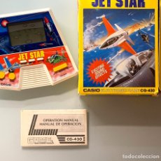 Videojuegos y Consolas: GAME WATCH ELECTRONIC GAME CASIO JET STAR CG-430 NUEVA. Lote 188842850