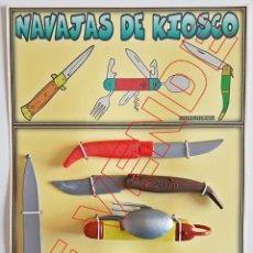 Videojuegos y Consolas: BLÍSTER NAVAJAS DE KIOSCO. Lote 189110428
