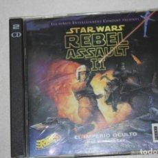 Videojuegos y Consolas: REBEL ASSAULT II DE STAR WARS. Lote 189177095