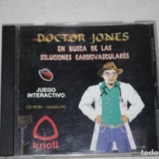 Videojuegos y Consolas: JUEGO DOCTOR JONES. AÑO 1999.. Lote 189177418