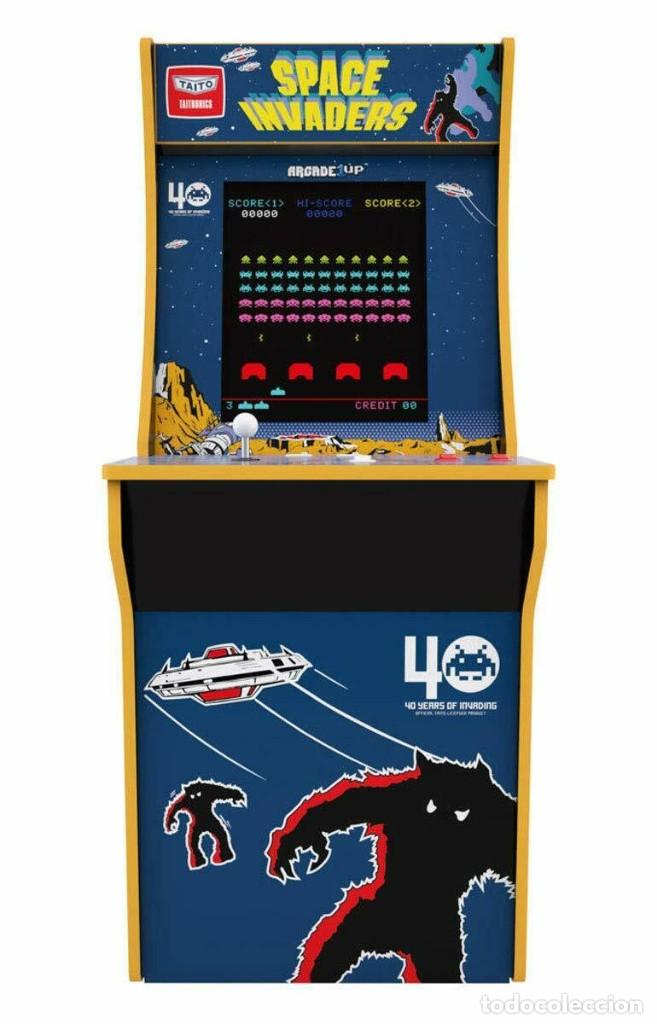 Maquina Cabina Original Arcade 1up Space Invade Buy Other Video Games And Consoles At Todocoleccion 189641833