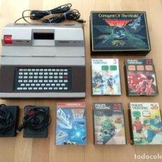 Videojuegos y Consolas: LOTE CÓNSOLA RADIOLA VIDEOPAC JET 47 JUEGOS CLON PHILIPS G7400 3, 12, 32, 36, 55 CONQUEST WORLD. Lote 189802752