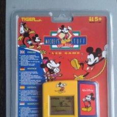 Videojuegos y Consolas: TIGER GAME&WATCH LCD MICKEY´S STUFF FOR KIDS NUEVO NEW SEALED PRECINTADO R9868. Lote 190913936