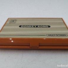 Videojuegos y Consolas: GAME & WATCH DONKEY KONG DE NINTENDO | FUNCIONANDO | MULTI SCREEN. Lote 191412077