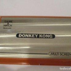 Videojuegos y Consolas: NINTENDO - GAME & WATCH - DONKEY KONG - FUNCIONANDO. Lote 191441938