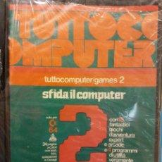 Videojuegos y Consolas: TUTTO COMPUTER. GAMES 2. SFIDA IL COMPUTER. . Lote 191474166