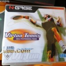 Videojuegos y Consolas: JUEGO VIRTUA TENNIS PARA NOKIA NGAGE. Lote 191555368