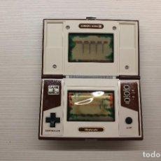 Videojuegos y Consolas: GAME WATCH DE NINTENDO DONKEY KONG II, FUNCIONA, PANTALLAS GASTADA, ESTADO COMO SE VE EN LAS FOTOS. Lote 221488506