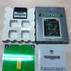 Videojuegos y Consolas: VECTREX -JUEGO PARA LA CONSOLA VECTREX DE MB - CLEAN SWEEP - PROBADO. Lote 191939723