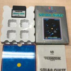 Videojuegos y Consolas: VECTREX -JUEGO PARA LA CONSOLA VECTREX DE MB - SOLAR QUEST - PROBADO. Lote 191939811