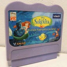Videojuegos y Consolas: LA SIRENITA *** JUEGO AÑO 2004 PARA CONSOLAS VTECH. Lote 192740727