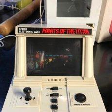 Videojuegos y Consolas: RARA MAQUINA GAME & WATCH FIGHTS OF THE TITAN EPOCH ELECTRONIC GAME JAPÓN 1983. Lote 192750695
