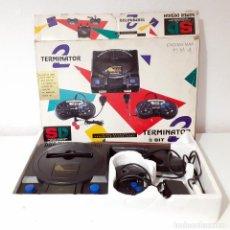 Videojuegos y Consolas: CONSOLA TERMINATOR 2 ENDING- MAN 8 BIT SÚPER DESIGN. Lote 193293423