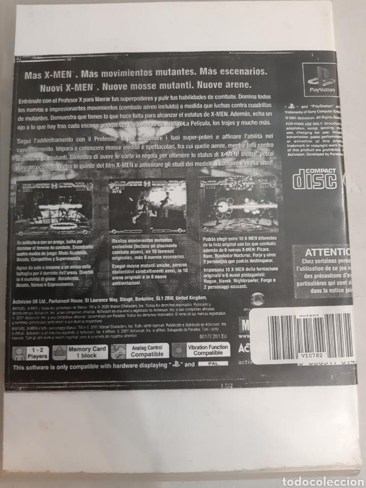 Videojuegos y Consolas: Play Station PAL X Men 2 mutante Academy Marvel Activision - Foto 3 - 193308953