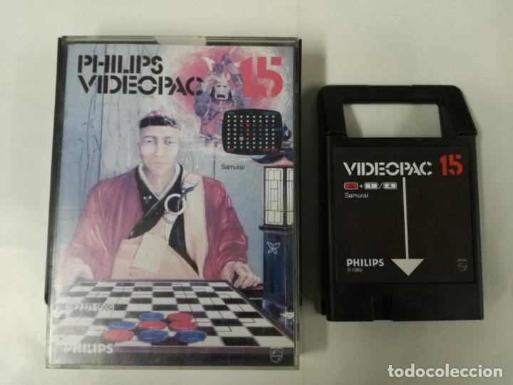 JUEGO PARA PHILIPS VIDEOPAC Nº 15-SAMURAI (Juguetes - Videojuegos y Consolas - Otros descatalogados)