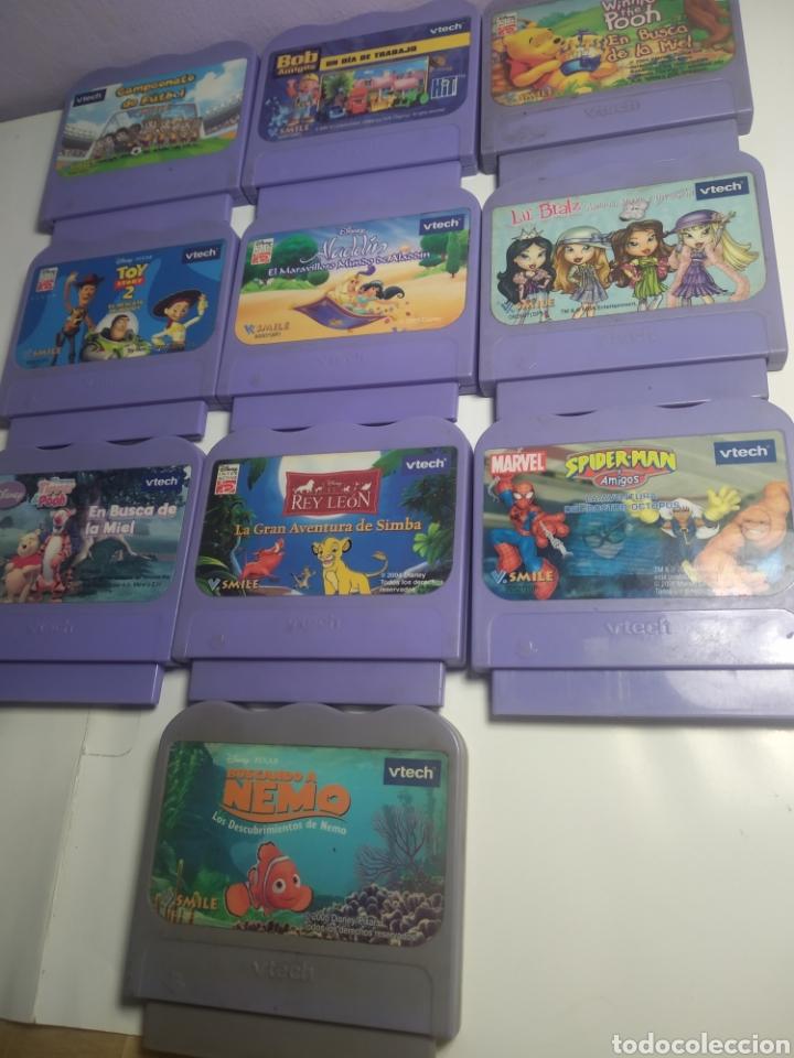 Videojuegos y Consolas: Lote de 10 juegos consola vtech Disney - Foto 2 - 193882606