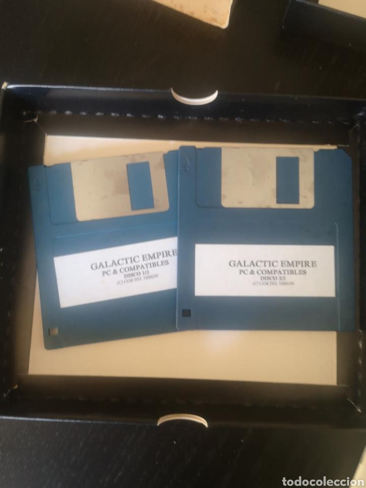 Videojuegos y Consolas: GALACTIC EMPIRE JUEGO PARA PC DE 1990 - Foto 3 - 194210718