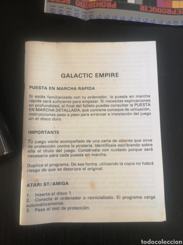 Videojuegos y Consolas: GALACTIC EMPIRE JUEGO PARA PC DE 1990 - Foto 4 - 194210718