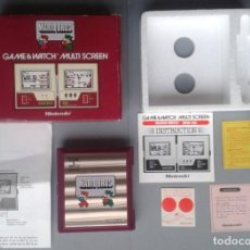 Videojuegos y Consolas: NINTENDO GAME&WATCH MULTISCREEN MARIO BROS MW-56 COMPLETA BOXED CIB NEAR MINT R9953. Lote 194270415