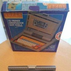 Videojuegos y Consolas: SUPER COMPUTER EDUCA - AÑOS 90 - FUNCIONANDO Y CON LA CAJA ORIGINAL - CON PILAS. Lote 194338281
