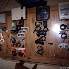 Videojuegos y Consolas: LOTE CONSOLAS RETRO ENVÍO GRATIS. Lote 194342855