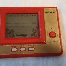 Videojuegos y Consolas: MAQUINITA TIPO GAME & WATCH LCD MINI ARCADE SUBMARINE FUNCIONANDO. Lote 194614276