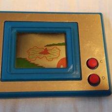 Videojuegos y Consolas: MAQUINITA TIPO GAME & WATCH GAME WIZARD AZUL FUNCIONANDO. Lote 194614725