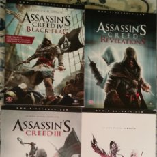 Videojuegos y Consolas: GUÍAS ASSASSINS CREED Y FINAL FANTASY. Lote 194757588