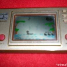 Videojuegos y Consolas: JUEGO ELECTRÓNICO GAME & WATCH NINTENDO PARACHUTE. Lote 194787143