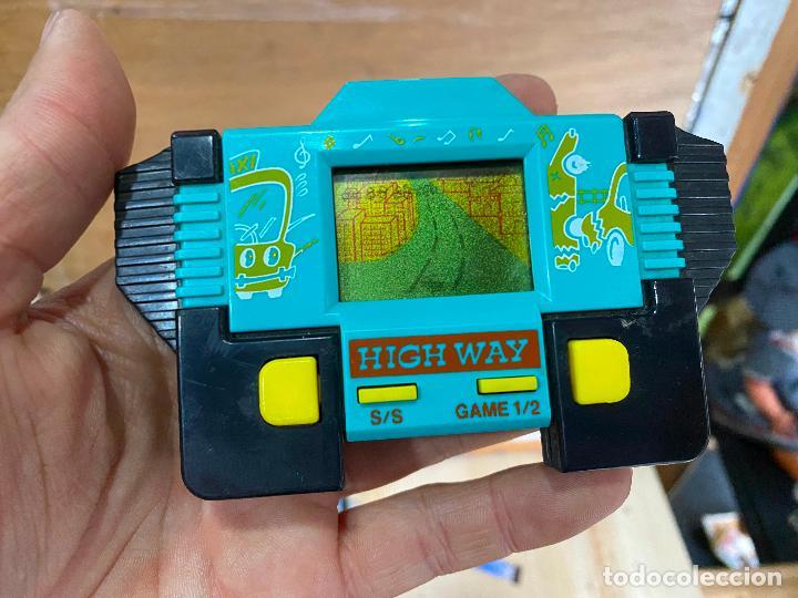 MAQUINITA LCD TIPO GAME & WATCH HIGHWAY (Juguetes - Videojuegos y Consolas - Otros descatalogados)