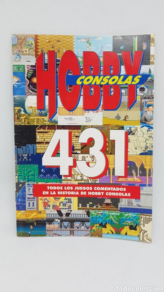CATALOGO HOBBY CONSOLAS 431 (Juguetes - Videojuegos y Consolas - Otros descatalogados)