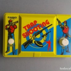 Videojuegos y Consolas: CASIO GAME&WATCH LCD TRAP SHOOTING CG-340 NEAR MINT FULL WORKING SEE!! R10046. Lote 195186766