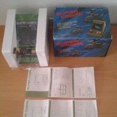 Videojuegos y Consolas: GAKKEN GAME WATCH SUPER COBRA COMPLETE IN BOX MINT CONDITION UNUSED RARE++ SEE!! R10047. Lote 195188682